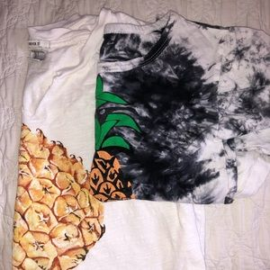 Bundle of 2 Pineapple Shirts !